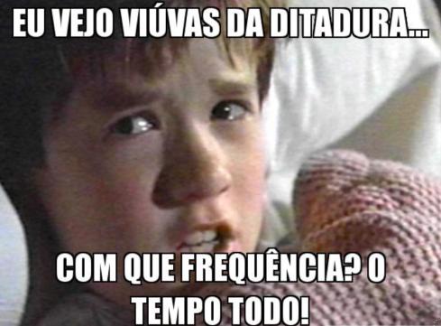 meme viúvas ditadura