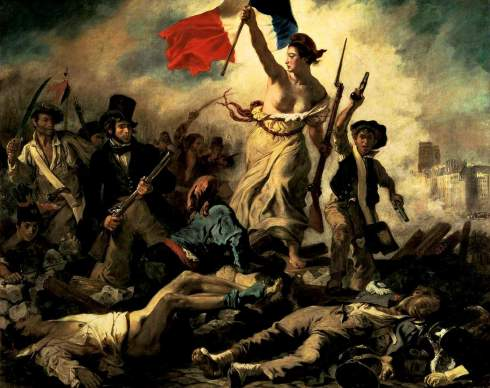 Liberdade Guiando o Povo_Eugene Delacroix