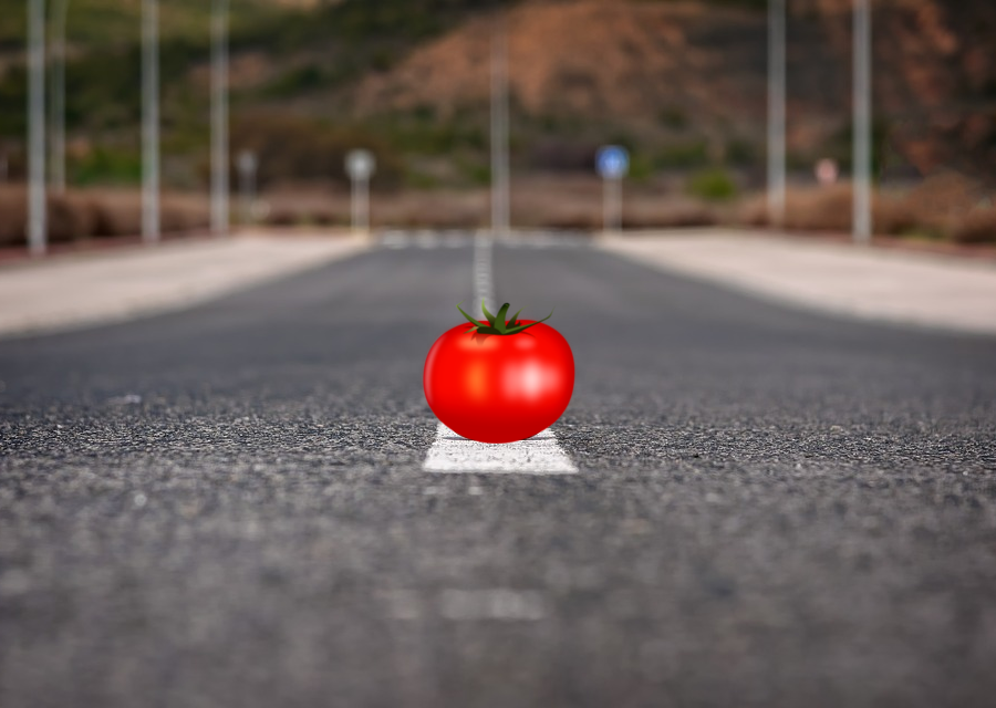 tomate na estrada